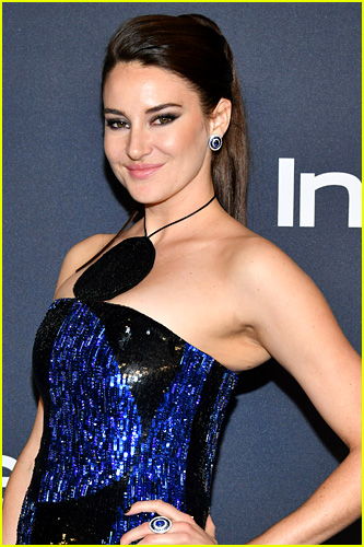 Shailene Woodley on the red carpet