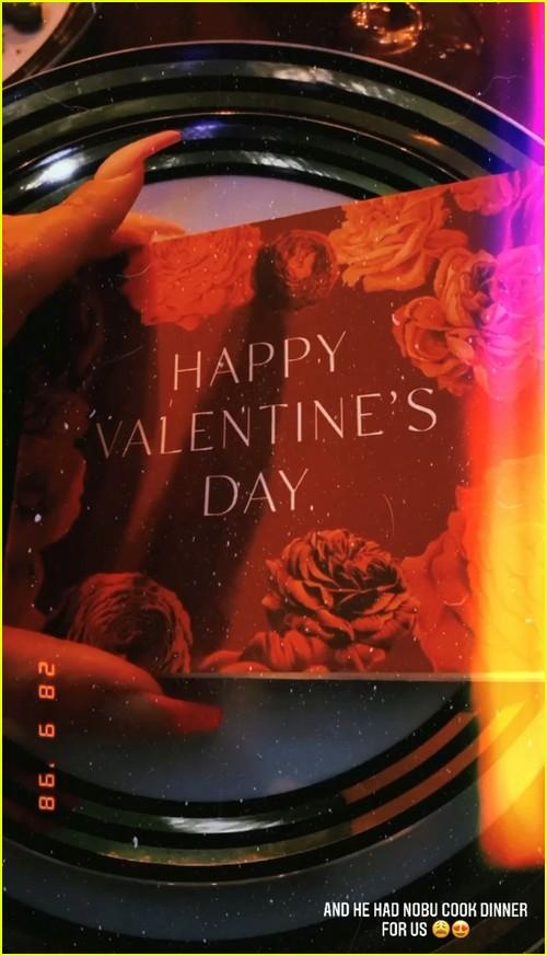 Michael B Jordan and Lori Harvey Valentine's Day Date