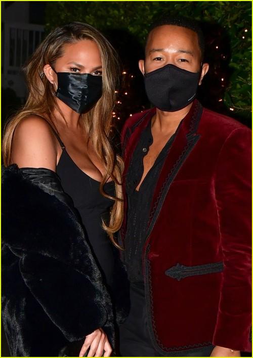 Chrissy Teigen and John Legend date night