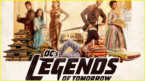 DCs Legends of Tomorrow logo