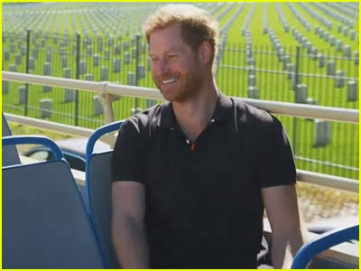 Prince Harry on James Corden show