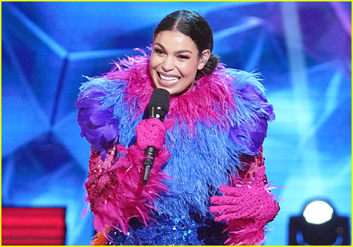 Jordin Sparks as Exotic Bird on The Masked Dancer