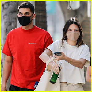 Kendall Jenner & Pal Fai Khadra Meet Up for Lunch in Beverly Hills