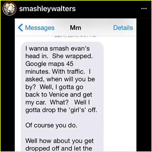 Manson Text Message