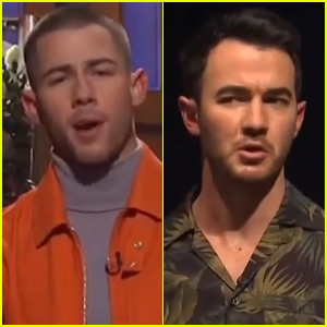 Nick Jonas is Questioned by Brother Kevin About the Future of Jonas Brothers During 'Saturday Night Live' Monologue - Watch!