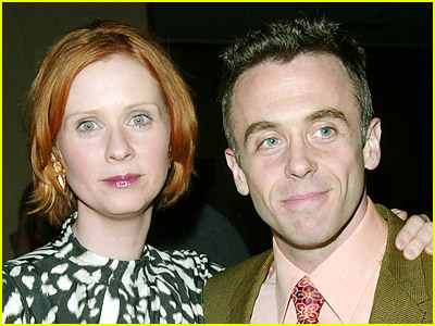 Cynthia Nixon and David Eigenberg