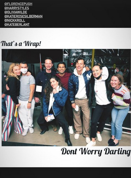 Don't Worry Darling Wrap Photo