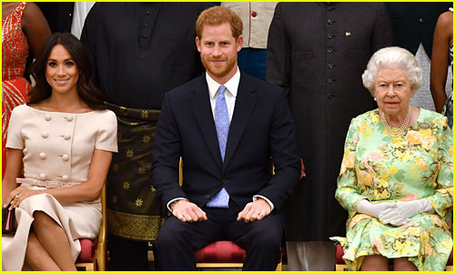 Queen Elizabeth to provide Remarks Hours Ahead of Knight in shining armor Harry & Meghan Markle' s Sit-Down with Oprah
