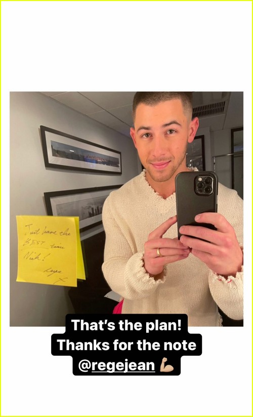 Rege-Jean Page leaves note for next SNL host Nick Jonas
