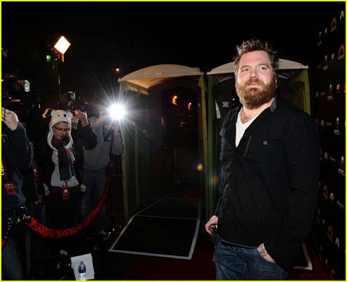 Ryan Dunn on the red carpet