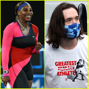 Serena Williams Wins Latest Match as Her Husband Cheers Her On (Wearing That Now Viral T-Shirt!)
