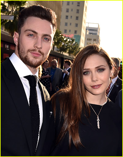 Elizabeth Olsen and Aaron Taylor-Johnson photo