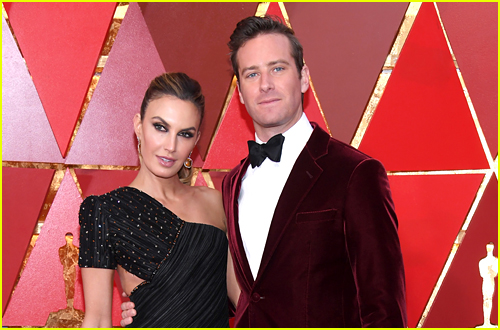 Armie Hammer and ex-wife Elizabeth Chambers