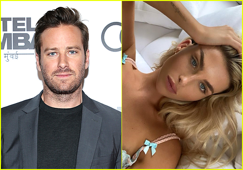 Armie Hammer and Paige Lorenze