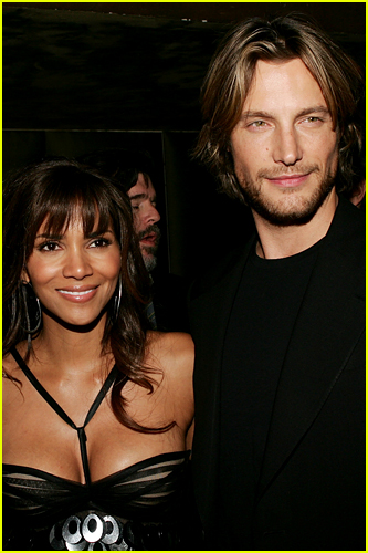Halle Berry and Gabriel Aubry photo