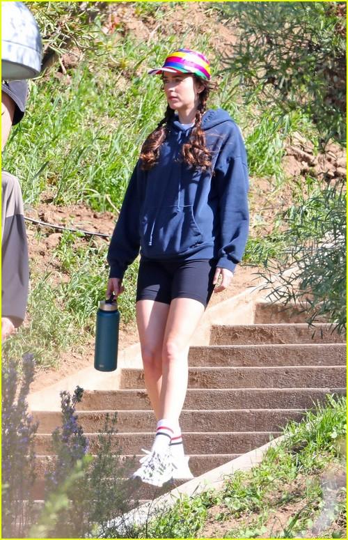 Dakota Johnson on set Am I Ok?