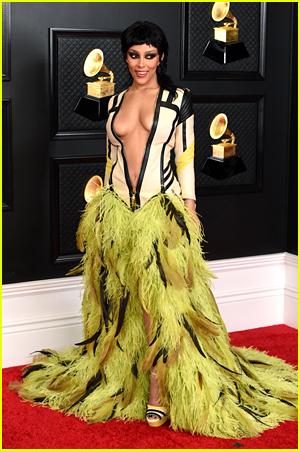 Doja Cat at the 2021 Grammys
