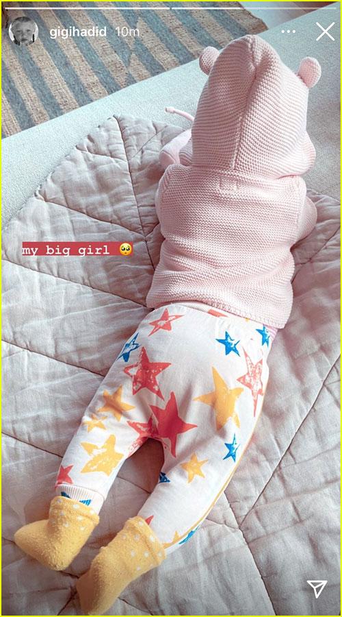 Gigi Hadid's daughter