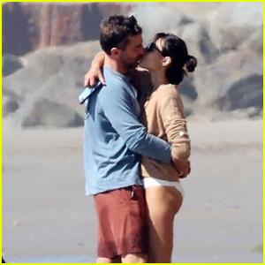 Jordana Brewster Shares a Kiss With Boyfriend Mason Morfit at the Beach
