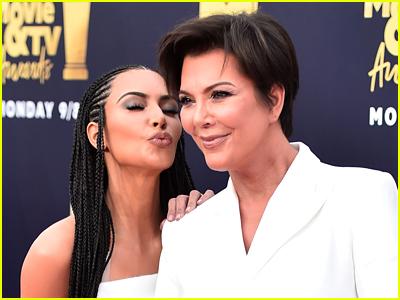Kim Kardashian and Kris Jenner photo