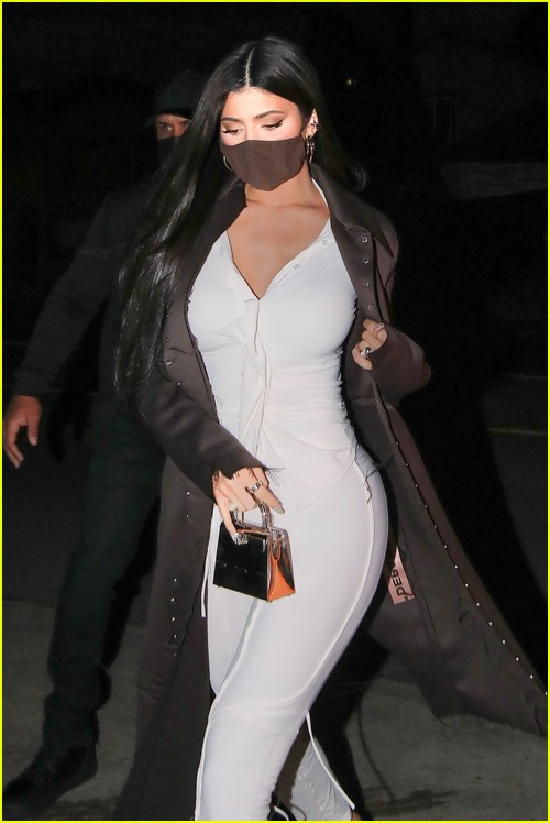 Kylie Jenner night out in Santa Monica
