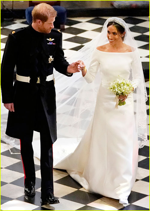 Meghan Markle Prince Harry Wedding pic