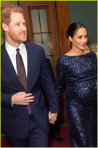 Meghan Markle and Prince Harry at Royal Albert Hall