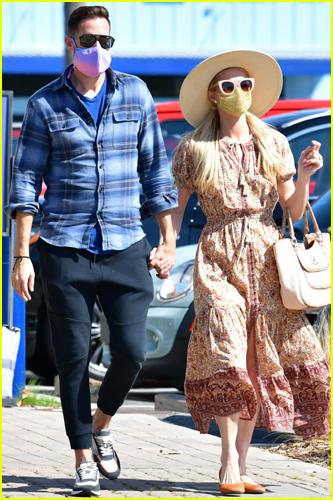 Paris Hilton & Carter Reum out in Malibu
