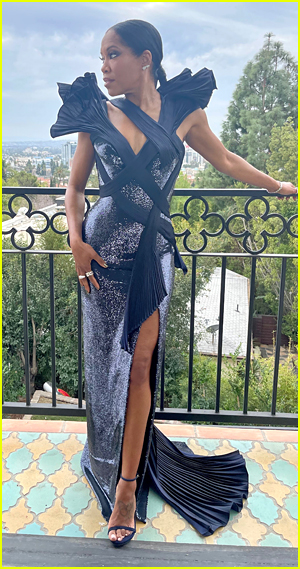 Regina King at 2021 Critics Choice Awards