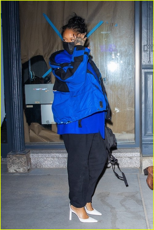 Rihanna stepping out for dinner