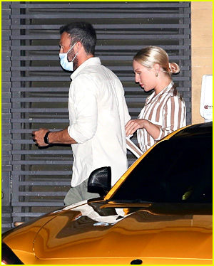 Sharna Burgess & Brian Austin Green on a date at Nobu Malibu