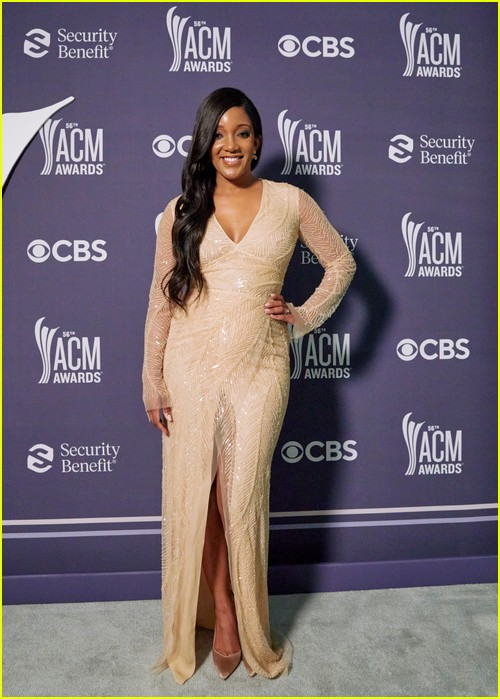 Mickey Guyton at the ACM Awards 2021