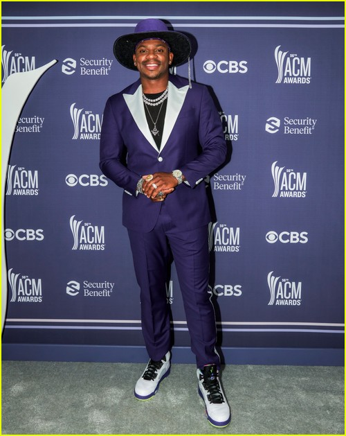 Jimmie Allen at the ACM Awards 2021