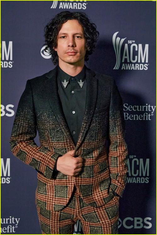 Devin Dawson at the ACM Awards 2021