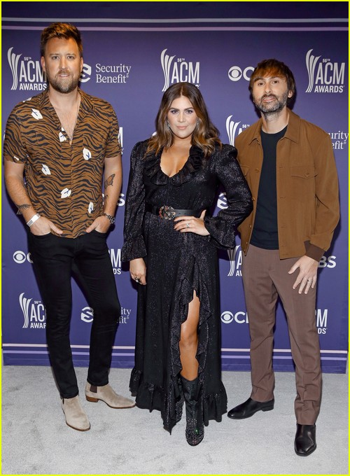 Lady A at the ACM Awards 2021
