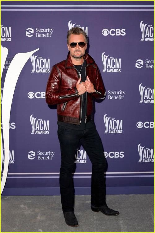 Eric Church at the ACM Awards 2021
