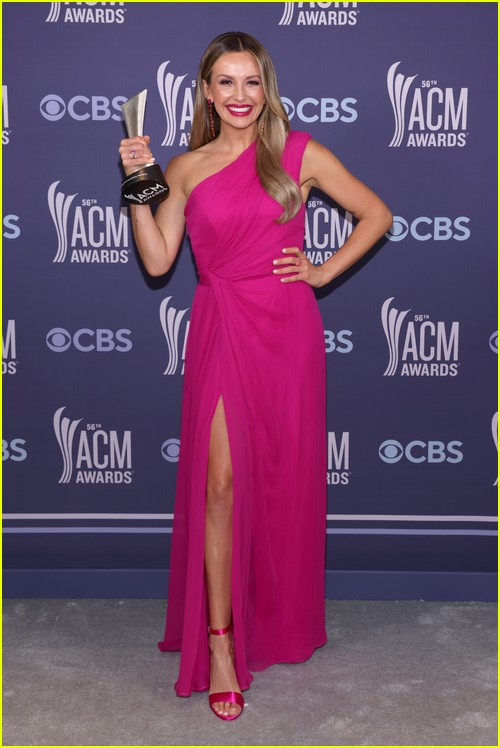Carly Pearce at the ACM Awards 2021