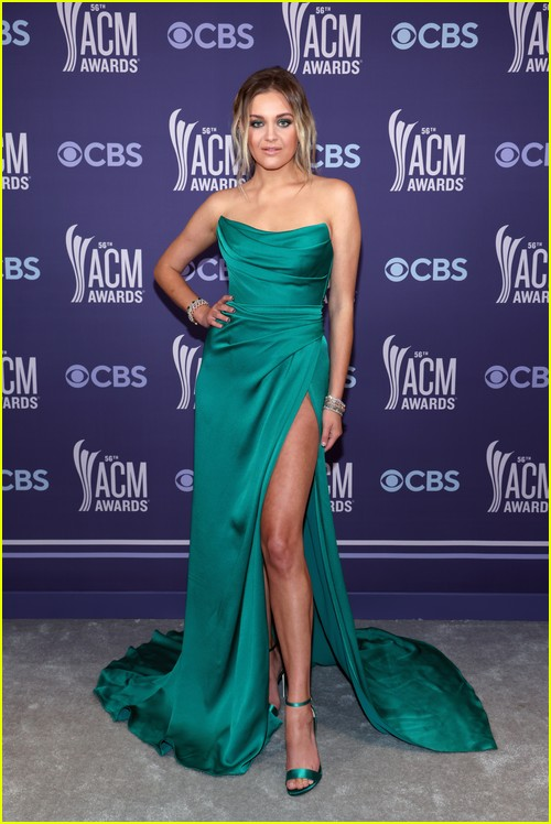 Kelsea Ballerini at the ACM Awards 2021