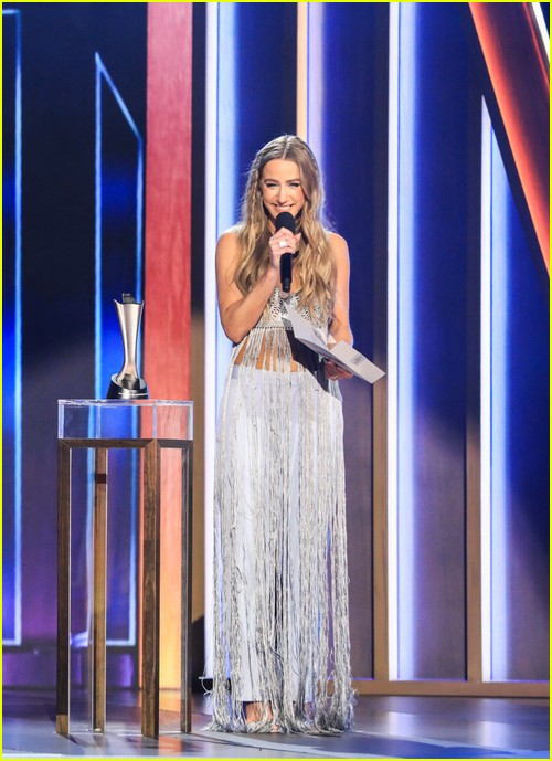 Ingrid Andress at the ACM Awards 2021