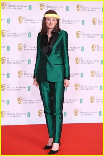 Amanda Berry 2021 BAFTAs red carpet