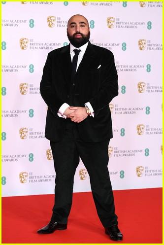 asim Chaudhry 2021 BAFTAs red carpet
