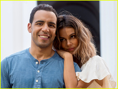 Nathalie Kelley and Victor Rasuk in The Baker and the Beauty