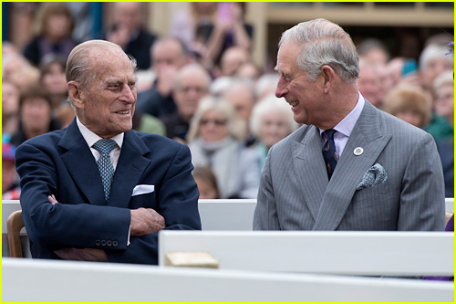 Prince Philip and Charles, Prince of Wales
