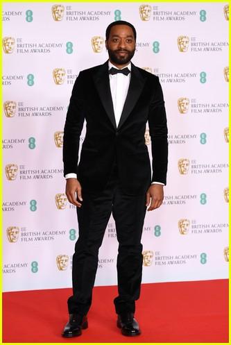 Chiweitel Ejiofor 2021 BAFTAs red carpet