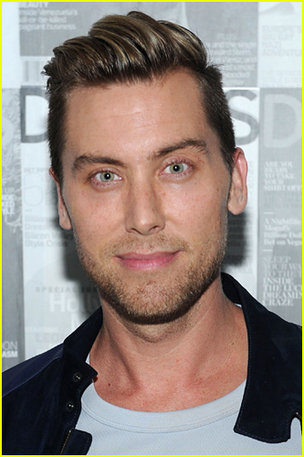 Lance Bass on the red carpet