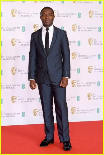 David Oyelowo 2021 BAFTAs red carpet