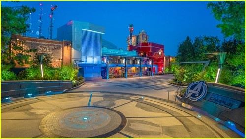 New Avengers Campus at Disneyland Resort