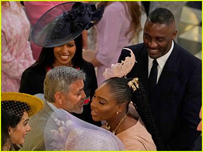Idris Elba at the royal wedding