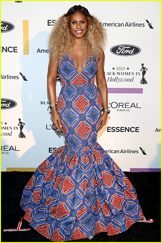 Laverne Cox at Essence Black Women in Hollywood Event