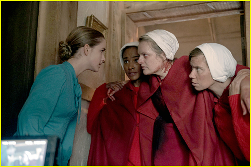 Mckenna Grace as Mrs. Esther Keyes in 'The Handmaid's Tale'